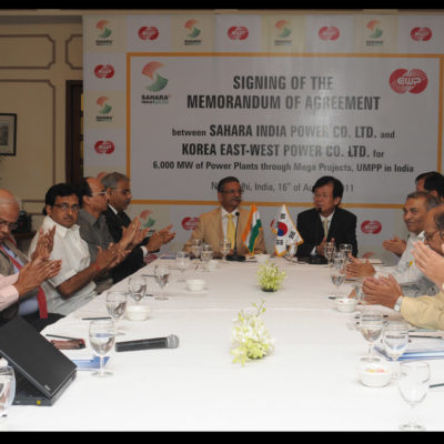 Sahara Power Corporation – Korean MOU